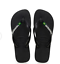 Original Havaianas Brazil Logo Top Flip Flops Beach Sandals All Sizes Unisex