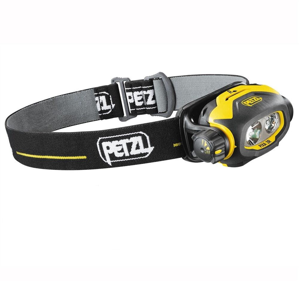 Petzl PIXA 3R pro headlamp HAZLOC Waterproof IP67 100 lumens Rechargeable