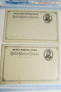 US-stamps-Postal-Card-and-Reply-Early-Collection