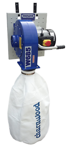 Charnwood-W685-Wall-Mounted-Dust-Extractor-1hp-Motor-5m-Filter-bag