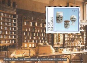 Belgio-Blocco-63-completa-Edizione-nuovo-linguellato-1994-Musei