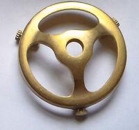 2 1/4 Fitter Cast Brass Uno Glass Lamp Shade Holder - Unfinished Brass Shh70u