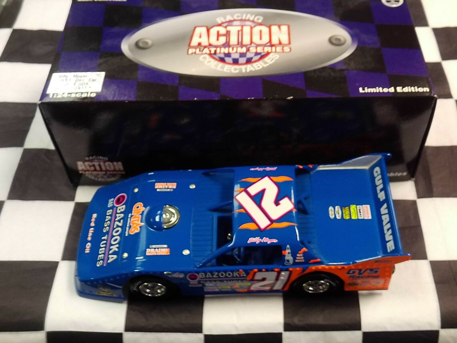Billy Moyer Big Johnson Bazooka Bass Tubes 1997 Late Model Dirt Action 1 24
