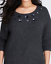 LANE-BRYANT-Flower-Embellished-Sweater-Women-039-s-Plus-22-24-Wool-Blend-3x thumbnail 3