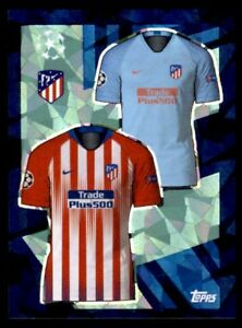 quality design f998f 9aa9a Details about Topps Champions League 2018/19 - Home/Away Kit Club Atlético  de Madrid No. 23