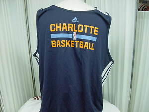 Official-NBA-Charlotte-Bobcats-Team-Issued-Adidas-Reversible-Practice-Jersey