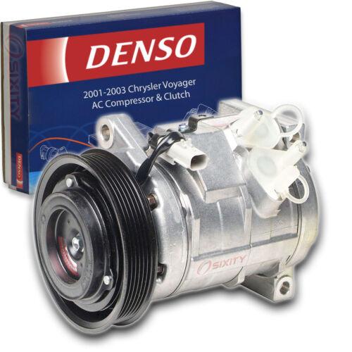 Denso AC Compressor /& Clutch for Chrysler Voyager 3.3L V6 2001-2003 HVAC Air jh