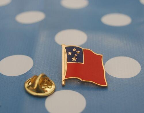 Samoa Pin Anstecker Flaggenpin Anstecknadel Button Pins Badge