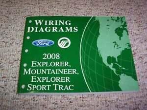 [SCHEMATICS_48EU]  2008 Ford Explorer Sport Trac Electrical Wiring Diagram Manual XLT Limited  V6 V8 | eBay | 2008 Ford Explorer Wiring Diagram |  | eBay