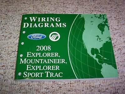 2008 Ford Explorer Sport Trac Electrical Wiring Diagram Manual Xlt Limited V6 V8 Ebay