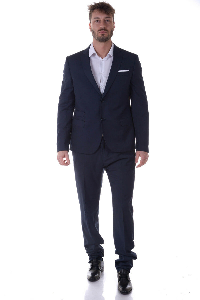 Abito Daniele Alessandrini Suit ITALY  Herren Blu A008S18753600 A008S18753600 23