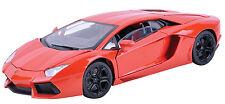 MotorMax Lamborghini Aventador LP700-4 1:18 Arancio Argos(Orange)-79154