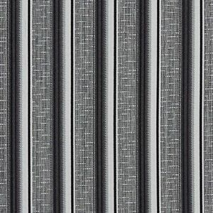 Details About A366 Contemporary Black And Silver Striped Tweed Upholstery Fabric By The Yard