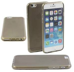 GREY-CASE-FITS-APPLE-iPHONE-6-SOFT-GEL-TPU-SILICONE-RUBBER-FROSTED-BACK-M38