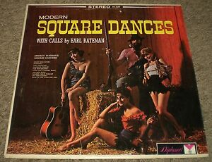 Modern-Square-Dances-Calls-By-Earl-Bateman-RARE-Cheesecake-Country-FAST-SHIPPING