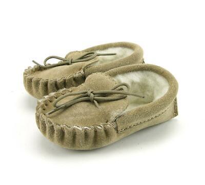Baby Lana D'agnello Foderato Mocassini/pantofole-british Made - 0-12 Mesi-pers - British Made - 0-12 Months It-it Mostra Il Titolo Originale Facile E Semplice Da Gestire