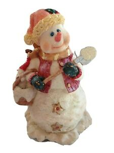 Cracker-Barrel-Musical-Snowman-Frosty-Music-Song-Christmas-Holiday-Figurine