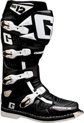 Gaerne SG10//SG12 React Boot Straps Long Black 4645-001 LONG STRAP BLACK