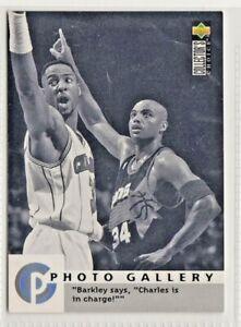 nba UPPER DECK 1996 PHOTO GALLERY CHARLES BARKLEY BASKETBALL CARD #187