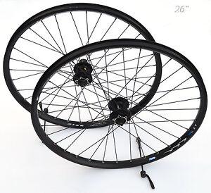 MTB-26-034-MTB-Disc-Laufradsatz-SHIMANO-Mountainbike-Disk-breite-Felge