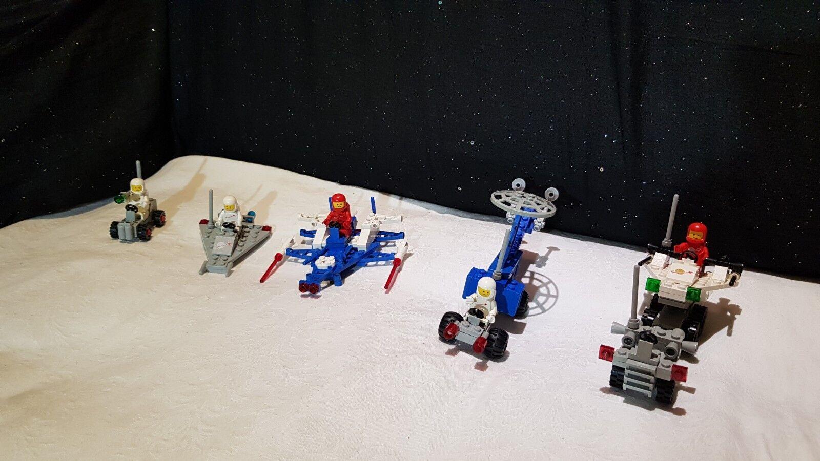 Lego vintage classic space  5 sets  A 100%