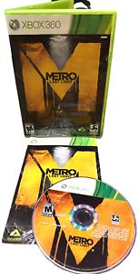 METRO Last Night W Manual Xbox 360 Game