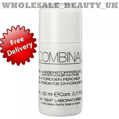 Combinal Hydrogen Peroxide 5% 20ml For Use With Eyelash Tints