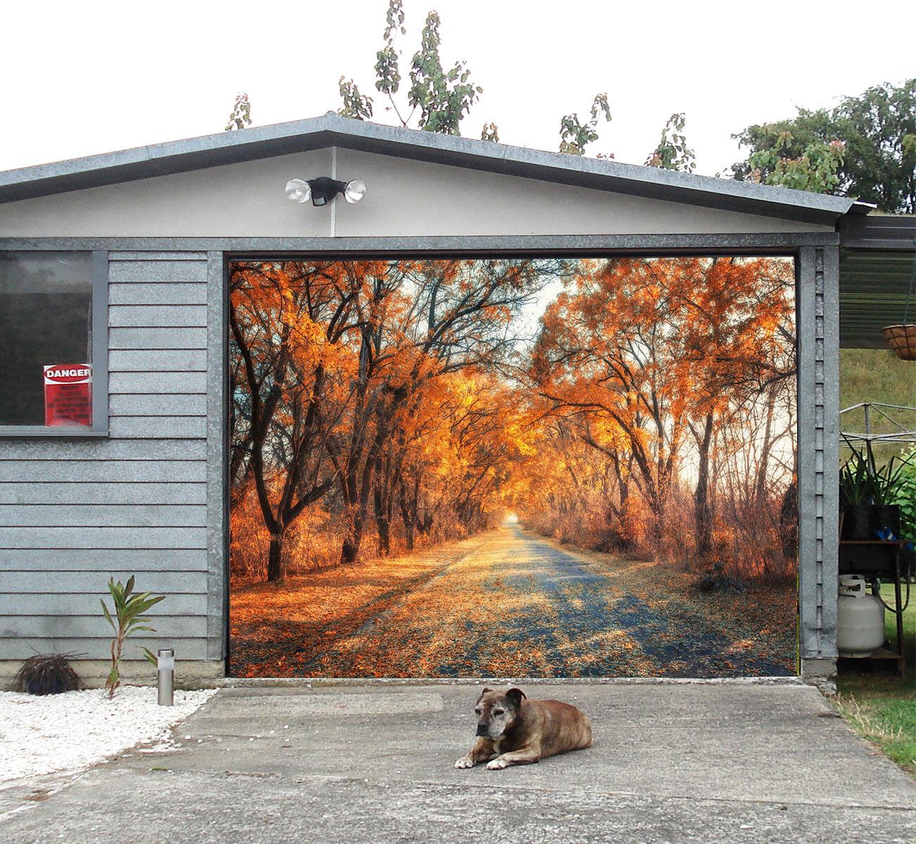 3D Nice road 0 Garage Door Murals Wall Print Decal Wall Deco AJ WALLPAPER AU