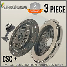 For Ford Focus MK2 Hback 1.6 04-15 3 Piece CSC Clutch Kit