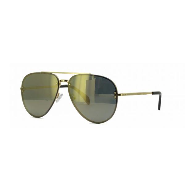 65d9c32f4f3 Celine Aviator Sunglasses Gold Frame Bronze Mirror Lens CL41391 S J5G MV