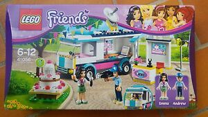 LEGO FRIENDS 41056 Le camion TV de Heartlake City ( boite abimee )