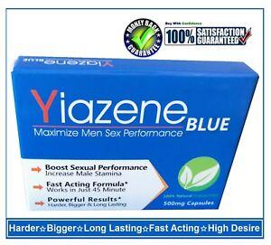 10 Yiazene Sexo Cápsulas / Pastillas para Men-Stronger, más Firme, más Espeso &