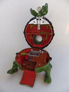 Figurine-tortue-ninja-TMNT-1994-plateau-de-jeu-pocket-toys-14-cm-x-10-cm