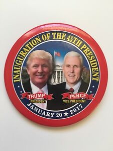 2017-President-Donald-Trump-Inauguration-of-the-45th-President-3-034-Button-Pence