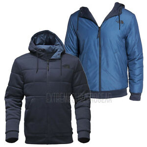 13f6d83ee0 THE NORTH FACE Mens 2018 KINGSTON REVERSIBLE HOODIE Urban Navy Shady ...