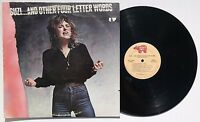 SUZI QUATRO: And Other Four Letter Words LP RSO RECORDS RS-7-3064 US 1979 NM-