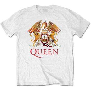 Queen-Classic-Crest-Official-Merchandise-T-Shirt-M-L-XL-Neu