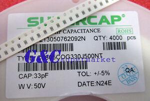1000pcs 0805 50V SMD 100NF RoHS Capacitors NEW