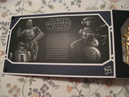 NEW DISNEY PARKS STAR WARS THE BLACK SERIES SMUGGLER/'S RUN /& DROID DEPOT