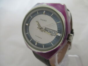 NOS-NEW-SWISS-VINTAGE-AUTOMATIC-PHENIX-ANALOG-MEN-039-S-ANALOG-WATCH-WITH-DATE-1960-039