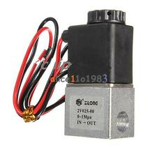 Dc 12v 18 Electric Solenoid Valve For Air Gas Water Normally Closed Nc