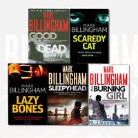 Mark Billingham Collection Tom Thorne Novel Series 5 Books Set Pack Good as Dead