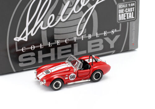 Shelby Cobra 427 s//c #98 Renn-versión rojo//blanco 1:64 shelbycollectibles