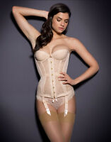 Agent Provocateur Mercy Corset Flesh Large / 4 / 12-14