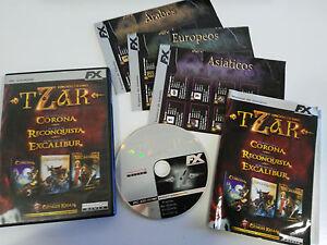 TZAR-EDICION-ORO-3-JUEGOS-JUEGO-PC-ESPANOL-CD-ROM-FX-INTERACTIVE
