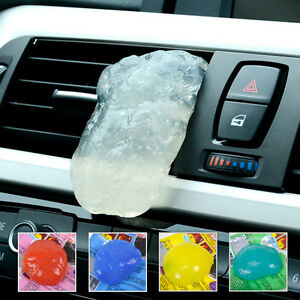car clean glue gum gel cleaning air outlet vent dashboard interior cleaner tool ebay. Black Bedroom Furniture Sets. Home Design Ideas