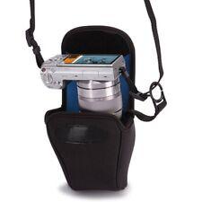 Case Logic CHC-101 Neoprene Compact System Camera Case DSLR Holster Bag Black