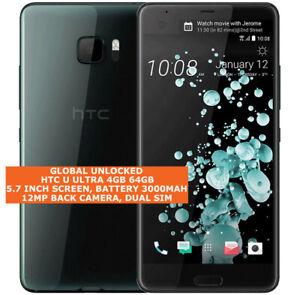 """HTC U Ultra 4gb 64gb Quad-Core 12mp Digitales Id 5.7 """" Android LTE Smartphone"""