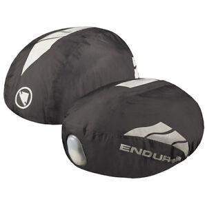 Endura-Luminite-Impermeable-Ciclo-Casco-Cubierta-Negro-Grande-XL