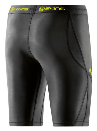 DA99060029240 Skins DNAmic Compression Half Tight Damen Black//Limoncello